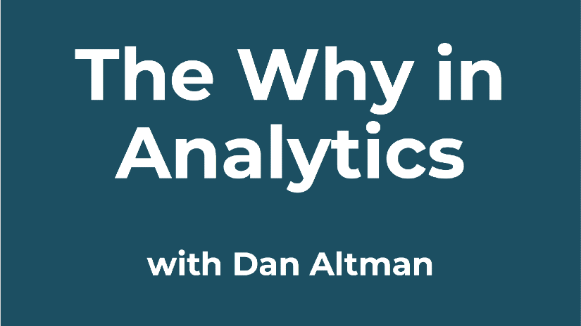 New podcast: The Why in Analytics